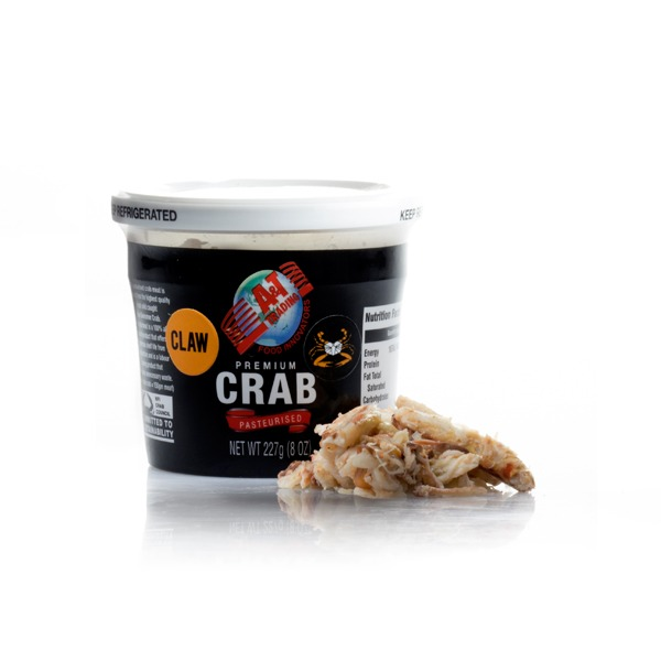 AT Blueswimmer Claw Crab Meat 227 gram tub