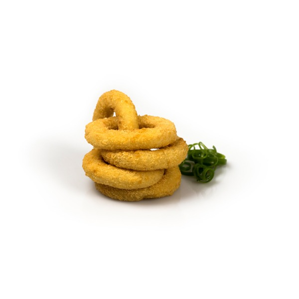 Large Formed Crumbed Squid Rings