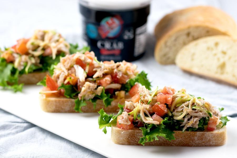 Crab Bruschetta Recipe